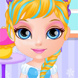 Baby Barbie Frozen Party