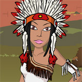 Native American Dress Up
